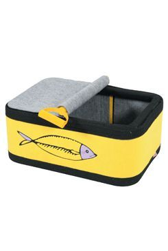 Pelech/box pro kočky SARDINE žlutá  Zolux