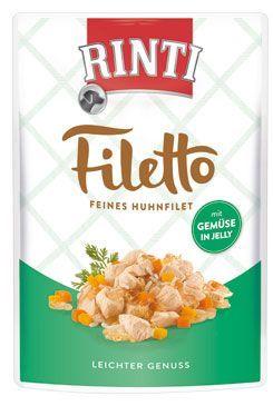 Rinti Dog Filetto kapsa kuře+zelenina v želé 100g
