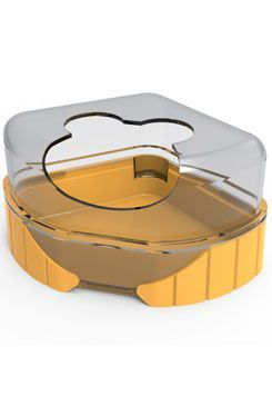 Komponenty Rody 3-toaleta žlutá Zolux