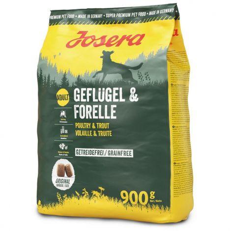 Josera  0,9kg Geflügel - Forelle