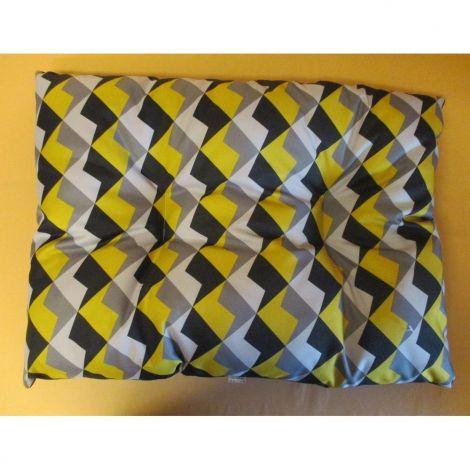 Polštář obdelník Modern 82x62cm mix čtyř-barev